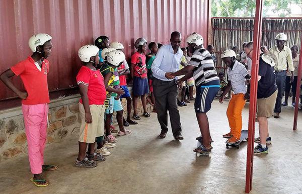 Sports in Burundi - Fort Barachel