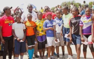 Prizes for the girls - Gihanga Sports Event by Fort Barachel Burundi