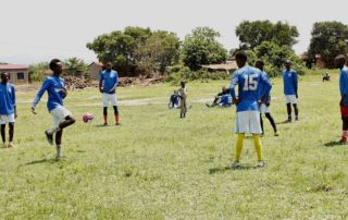 Soccer match - Gihanga Sports Event by Fort Barachel Burundi